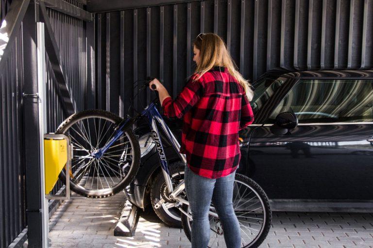 Bikelift Fahrradlift Fahrradgarage