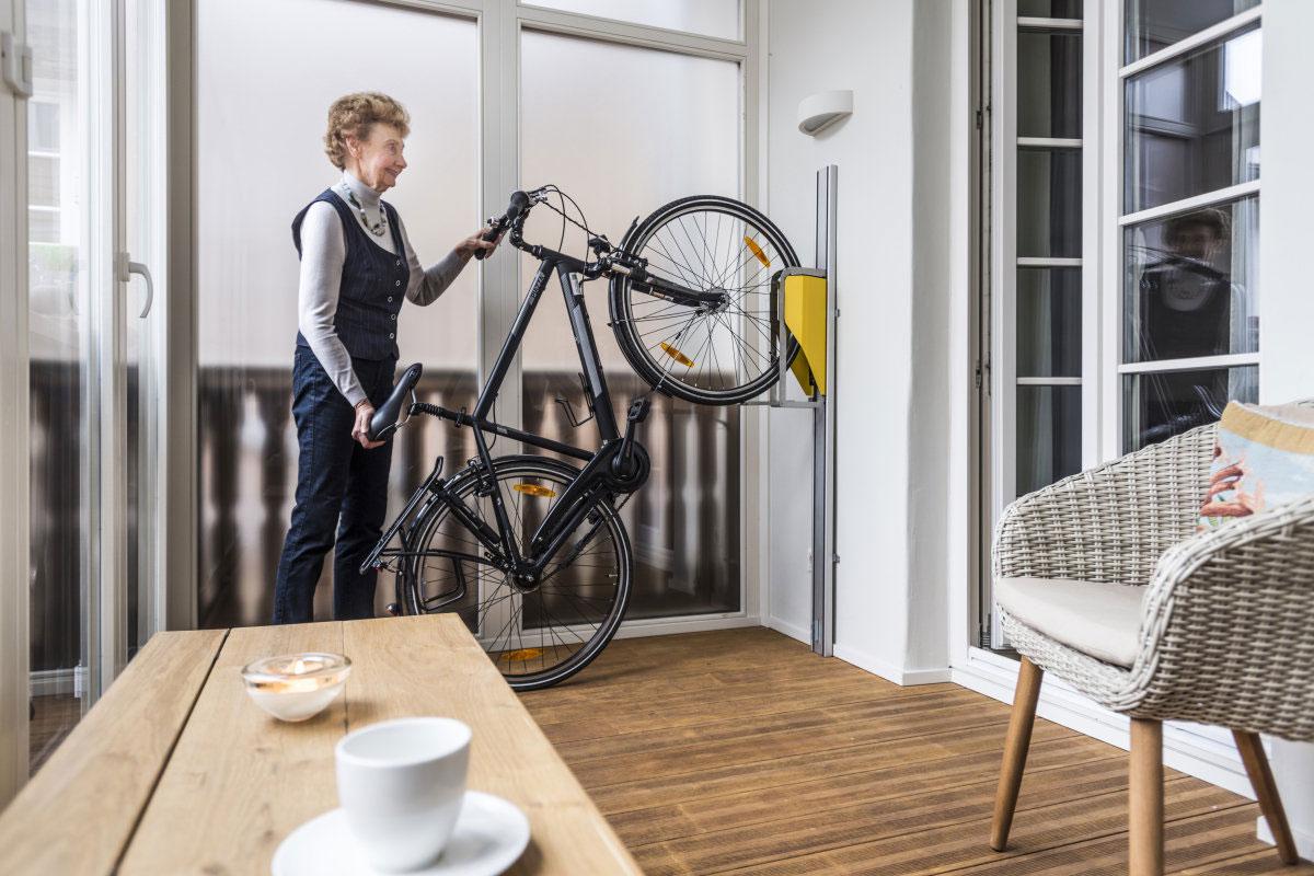 parkis das fahrrad ganz einfach parken. Black Bedroom Furniture Sets. Home Design Ideas