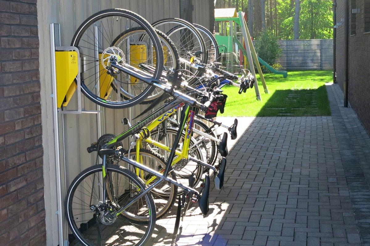 Fahrradständer mit Diebstahlsicherung