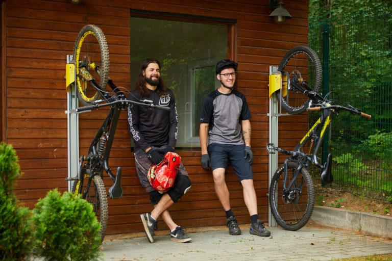 Pause für Sie & Ihr Mountainbike!