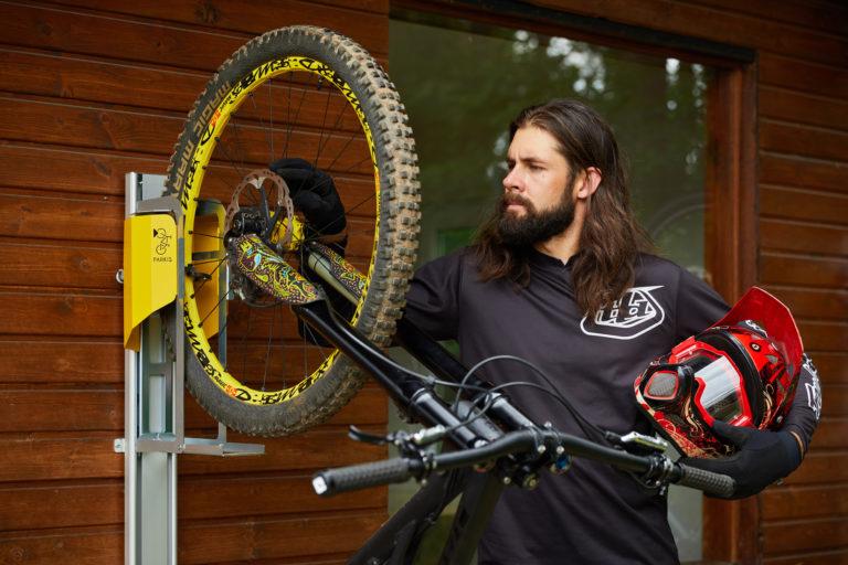 PARKIS Mountainbike Parkplatz: unkomplizierte Handhabung